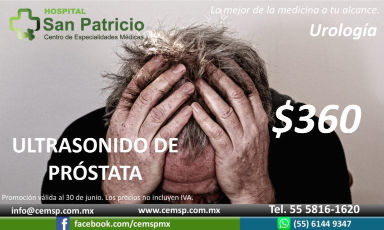 Ultrasonido de prostata horizontal 1 jun20